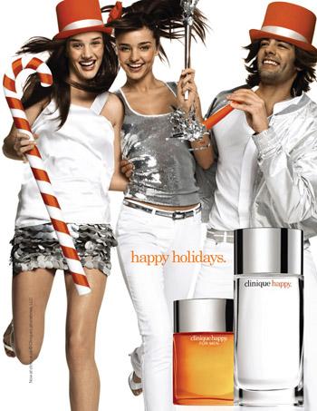 Легкий праздничный аромат Clinique Happy Holiday со звонкими нотками цитрусовых и...